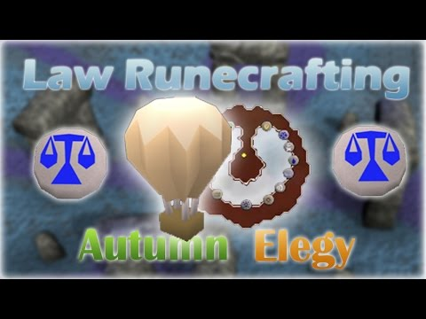 Law Runecrafting Guide | Balloon OR Abyss | 23-26k exp/hr | 2007 Oldschool Runescape