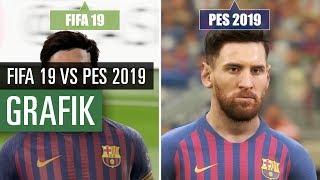 FIFA 19 vs PES 2019 GRAFIKVERGLEICH   Welches Spiel sieht besser aus?