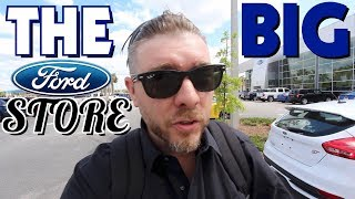 Taking a Tour of Charleston's Largest Ford Dealership!!!!