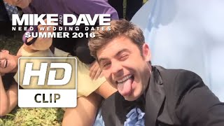 Mike & Dave Need Wedding Dates  Zac Efron Cant Stop Taking Selfies  Official HD Clip 2016
