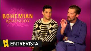 BOHEMIAN RHAPSODY | Entrevista Rami Malek, Gwilym Lee...