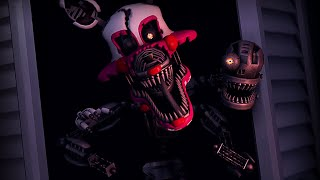 [FNAF SFM] Nightmare Mangle Jumpscare