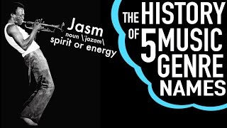 The History of 5 Music Genre Names