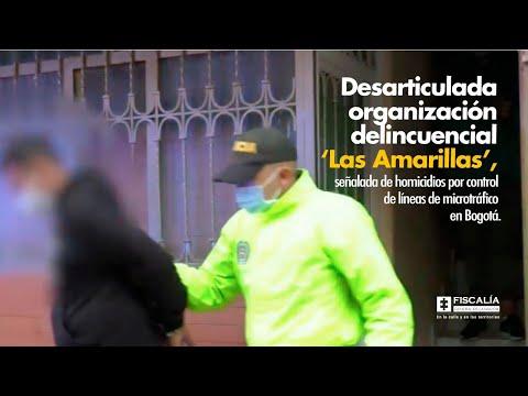 Fiscal Francisco Barbosa: Desarticulada 'Las Amarillas', señalada de homicidios por microtráfico