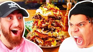 Who Can Make The Perfect NACHOS?! *TEAM ALBOE FOOD COOK OFF CHALLENGE*