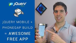 jQuery Mobile + Phonegap Build - How to make a slick app for FREE