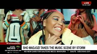 Sho Madjozi Returns To A Hero's Welcome After BET Award