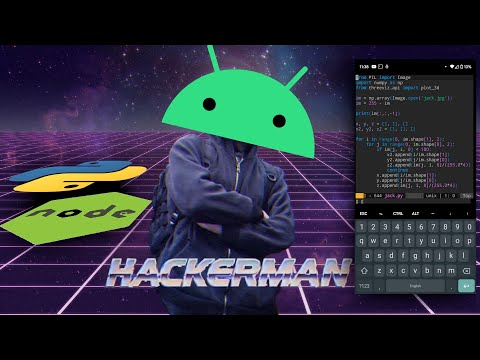 Programming with Python and NodeJS on your Android phone with Termux