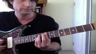 """Guitar Lesson: """"Dirty Little Secret"""" All American Rejects Easy How to Play Tutorial"""