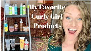 Favorite Curly Girl Hair Products for Wavy Hair (2A, 2B, 2C Hair)