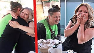 SURPRISING MOM WITH LIFE CHANGING GIFT!! *She was SHOOK*