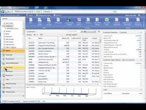 Dynamics NAV Training Introduction with Rick Baxter - YouTube