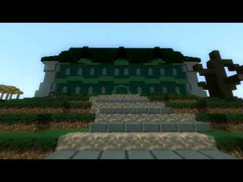 layout luigis mansion minecraft