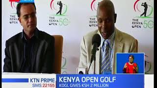 Kenya open golf receive more sponsorship