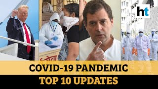 Covid update: Trump on Covid, vaccine; Maha tally; Rahul's failed lockdown jibe - Download this Video in MP3, M4A, WEBM, MP4, 3GP