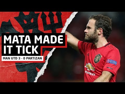 Mata Made It Tick | Manchester United 3-0 Partizan Belgrade | United Review