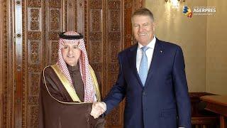 Preşedintele Iohannis a acceptat invitaţia de a efectua o vizită în Regatul Arabiei Saudite