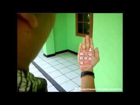 Video visualisasi konsep bracelet phone