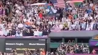 Прикол с американским флагом