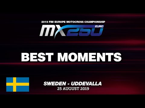 EMX250 Race 2 Best Moments   Round of Sweden 2019 #motocross