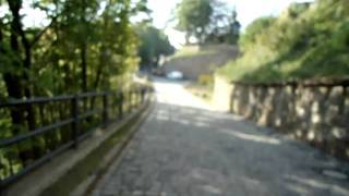 preview picture of video 'Colditz Castle - POW Yard to Exercise Park, a walk'