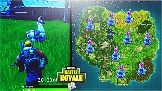 How To Find Supply Llamas in Fortnite! Supply Llama Spawn Locations! (Fortnite Battle Royale)
