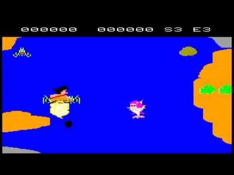 Dragonball Dragon Dai Hikyou - Super Cassette Vision - Gameplay 1