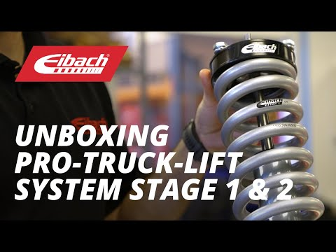 Unboxing - Eibach Lift System Stage 1 and 2
