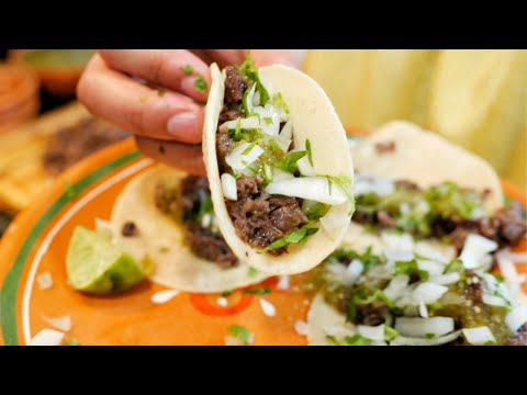EASY Mexican Cow's Head Tacos Recipe