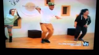 Tiny & Shekinah dancing