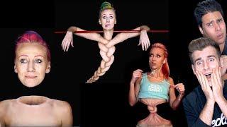 Make Up Artist Creates Master Illusions (Unbelievable)