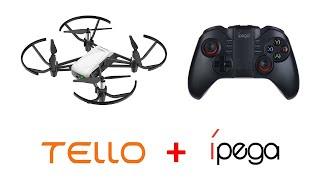 Como Controlar o Drone DJI Tello com o Ipega PG-9068 via USB OTG (Sem Lag e Interferência)