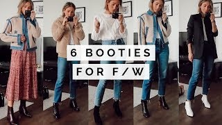 TOP 6 BOOTS FOR FALL AND WINTER | OUTFIT IDEAS
