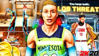 """I TOOK MY *RARE* LEGEND """"LOB THREAT"""" TO THE COMP STAGE AND DOMINATED EVERYBODY... (NBA 2K20 MyPark)"""