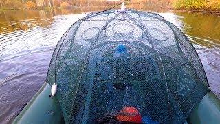 Рыболовная ловушка как ловить