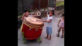 Training Barongsai Kids