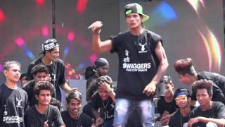 HIP-HOP worlds Best Dance performed by SURAT(Guj.)Dancers | Holi event 2016 | The Swagger group.