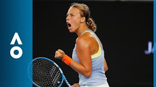 Jelena Ostapenko V Anett Kontaveit Match Highlights (3R) | Australian Open 2018