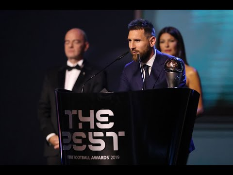 Lionel Messi reaction   The Best FIFA Men's Player 2019