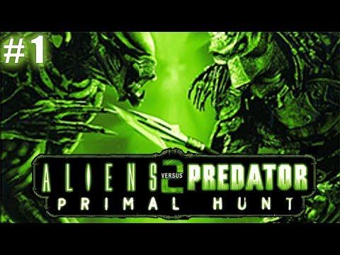 /CZ Let's Play\ Aliens vs Predator 2: Primal Hunt Part 1 - Průchod za člověka