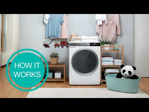How It Works: Washing Machine • WaveActive by Gorenje