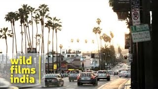 Los Angeles TVC : moods of LA city in time lapse