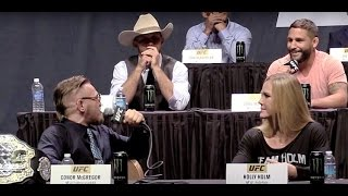"""Conor McGregor to Chad Mendes: """"You Hit the Deck Like a B-tch!"""""""