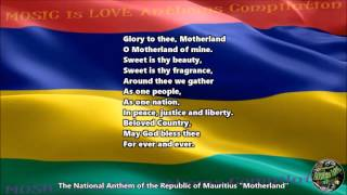 "Mauritius National Anthem ""Motherland"" with music, vocal and lyrics English"
