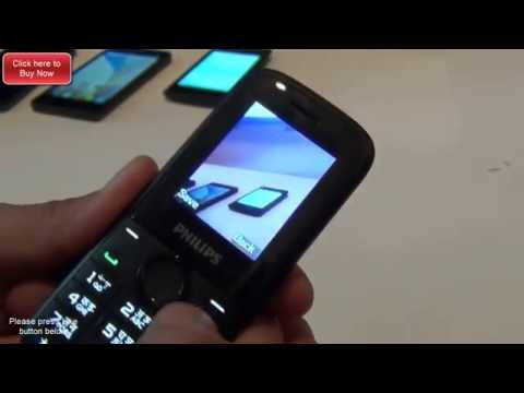 Philips E130 Feature Phone Hands On Review, Specifications And Features Overview