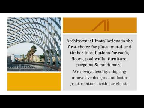 Leaders in Metal, Glass & Timber Installations
