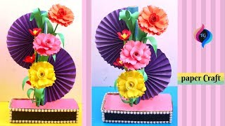 How To Make Home Decoration With Paper