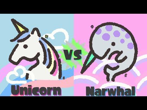 Splatoon 2 - Unicorn vs Narwhal Splatfest