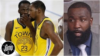 KD never got over the Draymond argument – Kendrick Perkins | The Jump