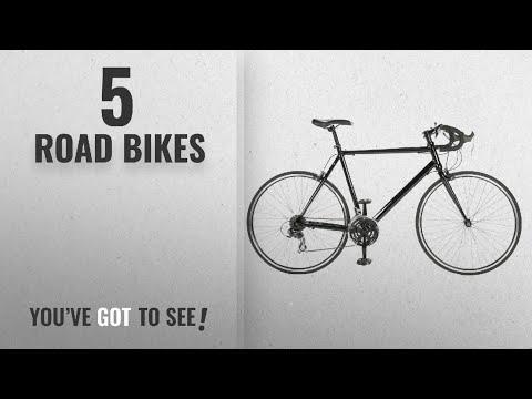 Top 10 Road Bikes [2018]: Vilano Aluminium Road Bike 21 Speed (Black, 58cm)